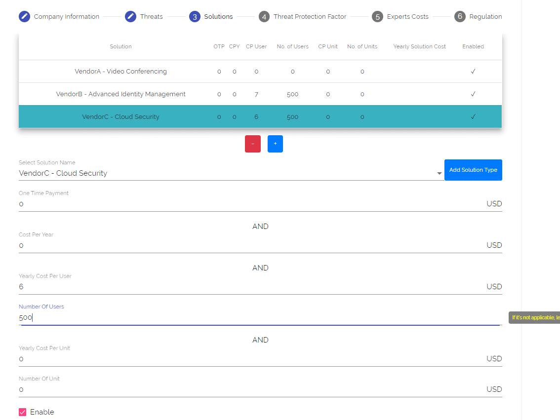 solution input on boardish